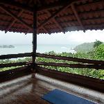 Yoga venue at Costa Verde
