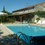 Pool Area at La Bergerie