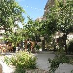 Patio at Peri Cave Hotel