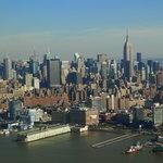 NY aus der Luft