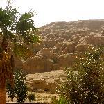 View from room - Crowne Plaza Hotel, Petra, Jordan