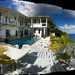 Pano of Hotel from Deck