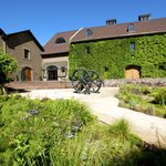 The Hess Collection Winery & Hess Art Museum are located in a historic stone building built in 1