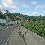 Road to Casa Maria (not recommended that you walk here Bcos of vehicles)