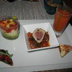 Small Plates/Appetizers at dinner