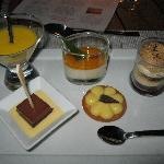 Dinner Deserts from Buffet