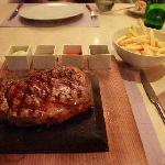Rib Eye Steak in Teatro  Restaurant