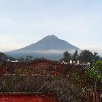 Morning view of Volcan de Agua