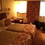 twin room.