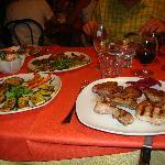 assiette de vinades grillées