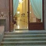 中庭の入り口