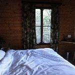 Master bedroom in second chalet