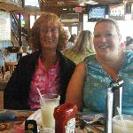 My sister Sharon and I(Julie)