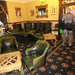 Had we been visiting during the Victorian Age this furniture would have been spot on. The hotel