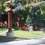 Jardin (entrada del hotel)