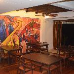 Bistro Indoor Dining Area