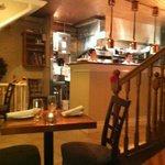 kitchen & serving area