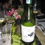 "Dining at the Berluda with ""Shy Sheep"" wine"