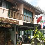 the handcraft shop and rooms on the 2nd floor