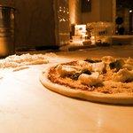 the real italian pizza with fresh buffalo mozzarella