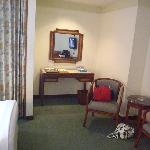 writing desk in superior room-no writingdesk in executive room!