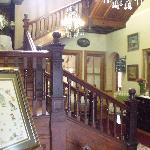 Entrance hall with grand staircase