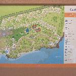 Plan of the resort