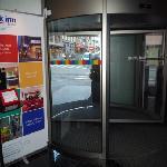 Entrance - revolving door