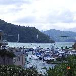 vue de la baie à Picton