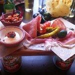 meat / cheese antipasti starter