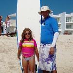Kyra and Papa