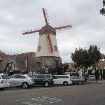 Windmill across the street