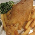 Fish and chips at Gavin's