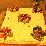 The Christmas Cake... Delicious
