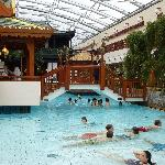 Pool - flacher Zugang - hinten ca. 150cm tief