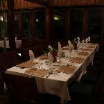 Dining at the Relais du Masoala