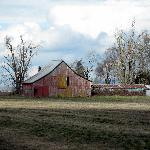 Willamette Valley - an old barn