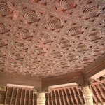 amazing carved ceilings inside and outside the Palace.