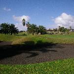 Golf del sur bunker sable noir