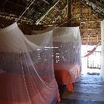 l'interno della capanna