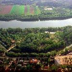 Beautiful island of Pap-sziget with a campsite and thermal pool, Szentendre - next Budapest