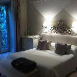 bedroom of our suite