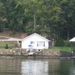 The cabin we stay in