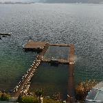 piscina sul lago