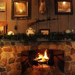 Fire Place at Cracker Barrel