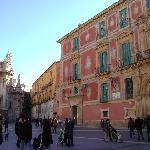 Plaza Cardenal Belluga, Murcia.