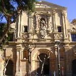 Iglesia Santo Domingo, en Plaza Julián Romea, Murcia.