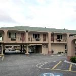 Außenansicht des Motels