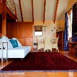 Downstairs at Kamahi Cottage
