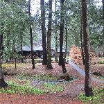 One of the smaller lodges
